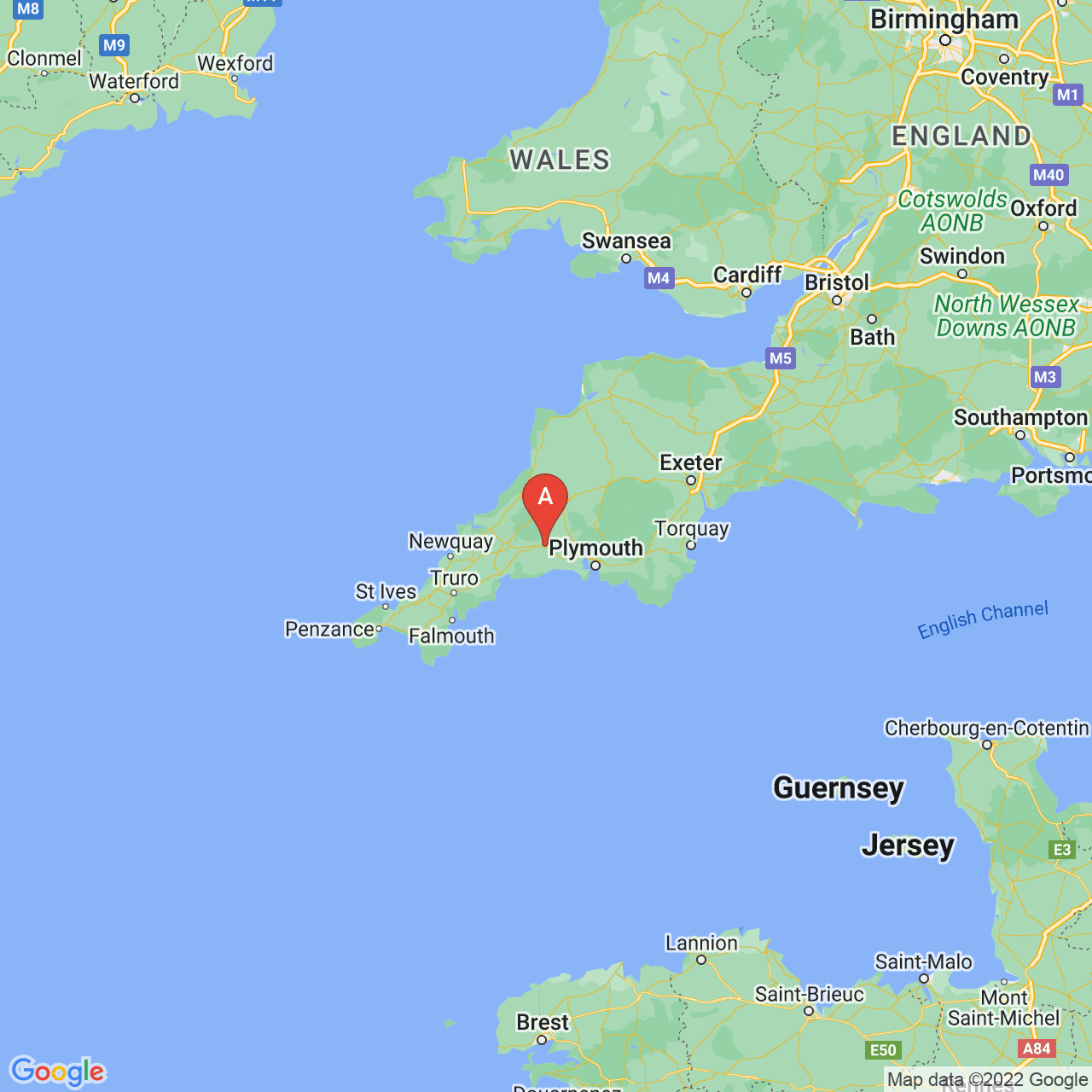 Liskeard, England Map