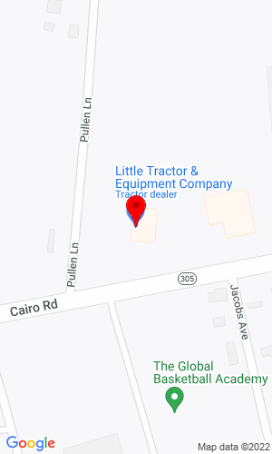 Google Map of Little Tractor & Equipment 1641 W 10th Street , Metropolis, IL, 62960