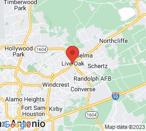 Job Map - Live Oak, Texas  US