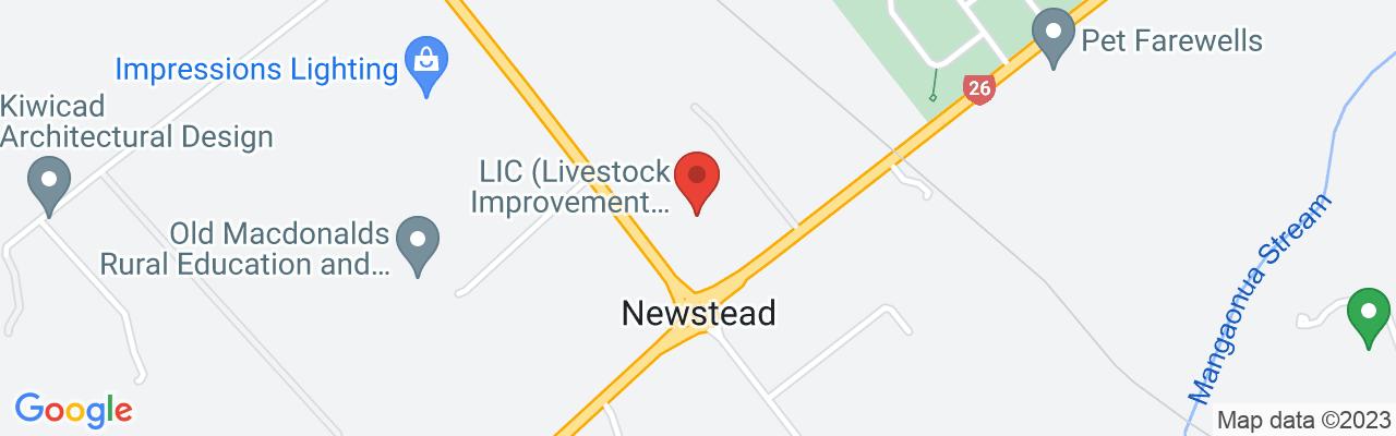 Livestock Improvement Corporation Ltd 605 Ruakura Road Newstead 3286  Hamilton
