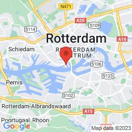 Google map of Transformatie St. Jobsveem, Rotterdam
