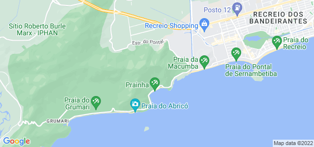 Localização: Parque Natural Municipal da Prainha, Rio de Janeiro, RJ.