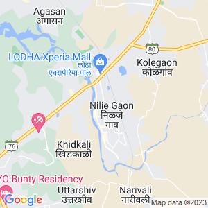 Google Map of Lodha Heaven, Nilje Gaon, Dombivli-East PIN :421 204
