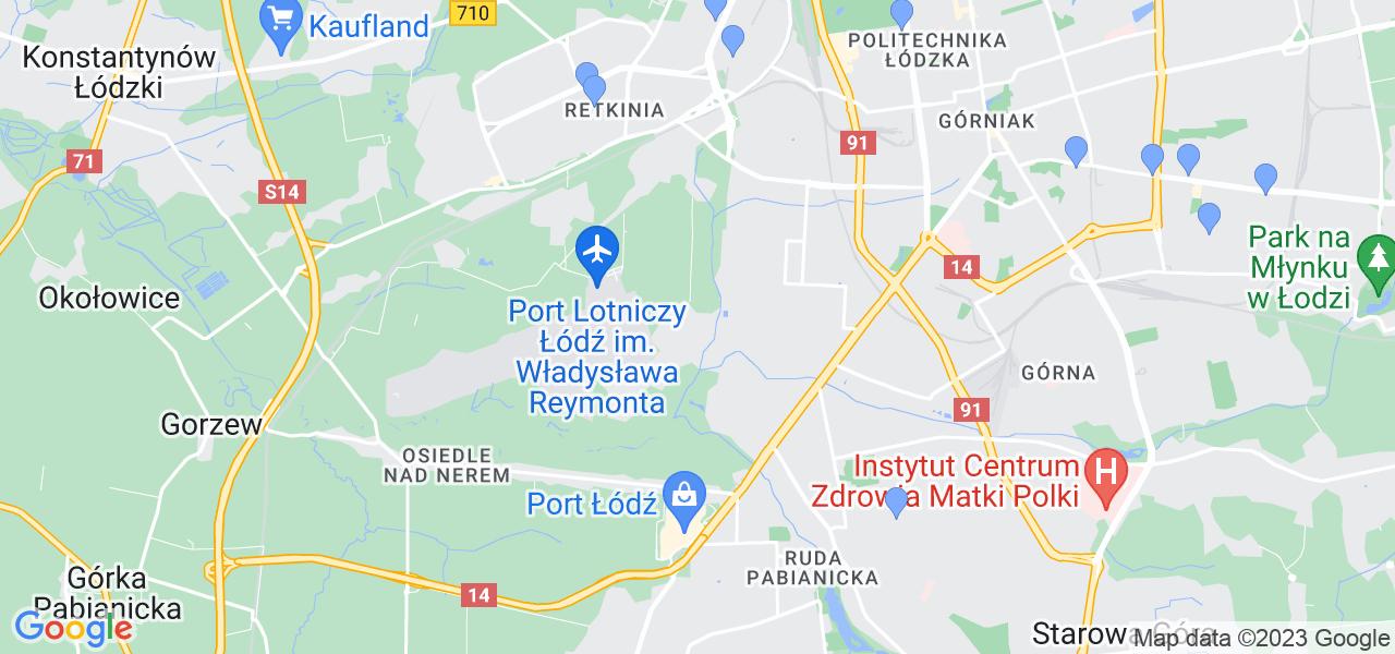 Dostępne w Łodzi punkty wysyłki, z których można wysłać zdemontowany filtr DPF/FAP do czyszczenia w specjalistycznej pracowni