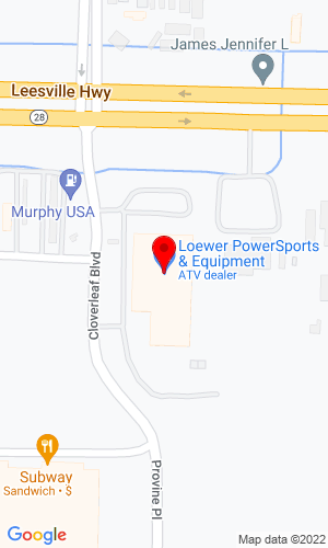 Google Map of Loewer Equipment 5909 Coliseum Blvd, Alexandria, LA, 71303-3715,