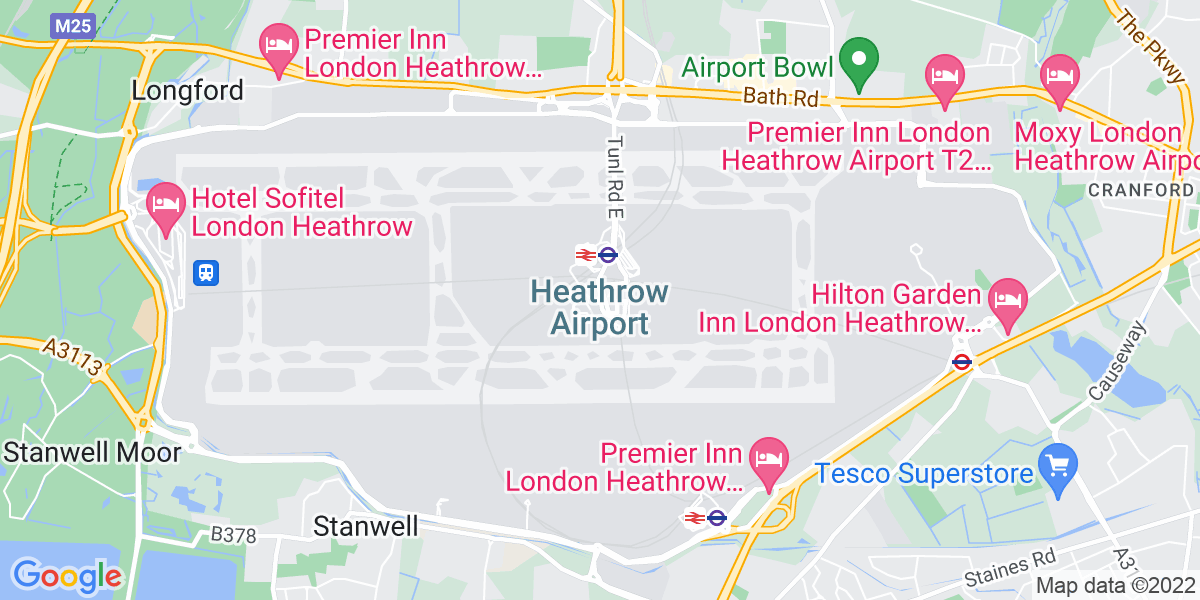 Map: Transport Planner job role in London Heathrow Airport
