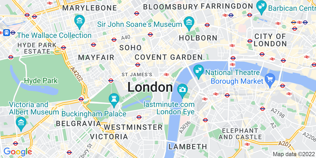 Map: Business Development Consultant job in London