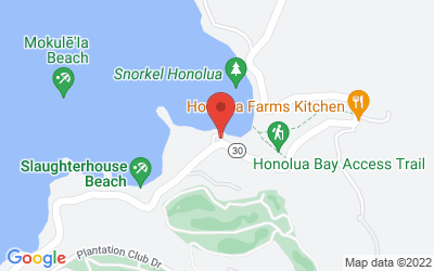 Map of Honolua Forest