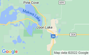 Map of Makwa Lake/Mewasin Campground