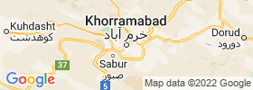 Khorramabad map
