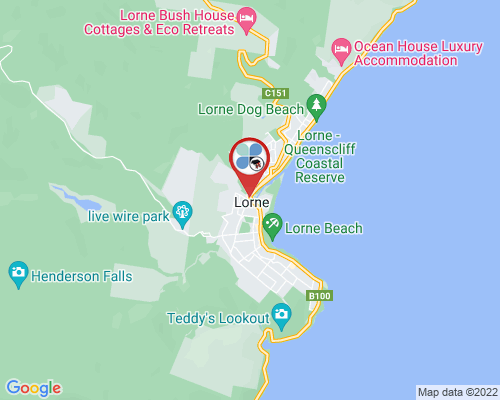 Lorne google map
