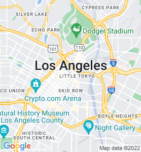 Los Angeles CA Map