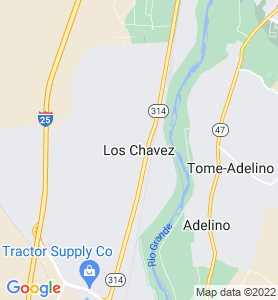 Los Chavez NM Map