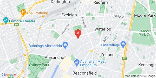 Sydney CBD - Location Map