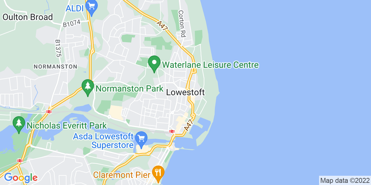 Map: Deputy Store Manager role in Lowestoft