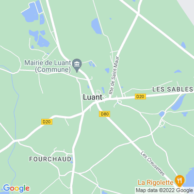 bed and breakfast Luant