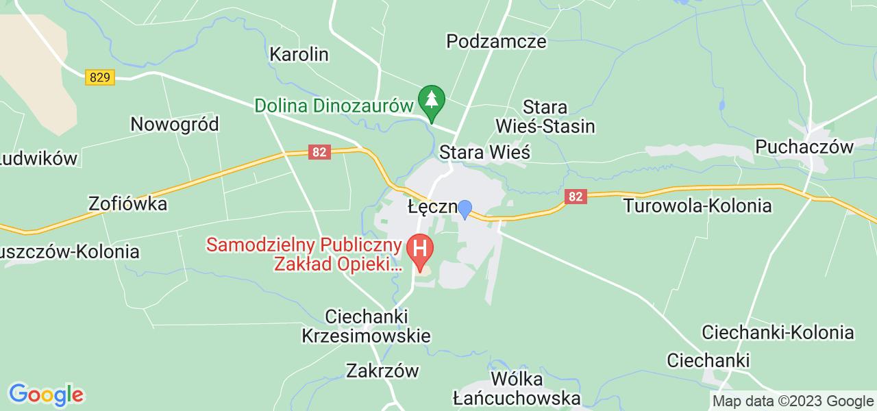 Dostępne w Łęcznej lokalizacje punktów nadania, z których możesz skorzystać, chcąc wysłać turbinę do regeneracji w największym serwisie w Polsce