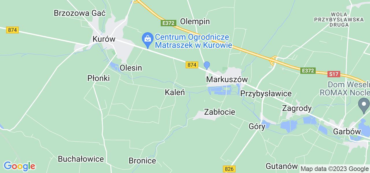 Dostępne w Łanach lokalizacje punktów nadania, z których możesz skorzystać, chcąc wysłać turbinę do regeneracji w największym serwisie w Polsce