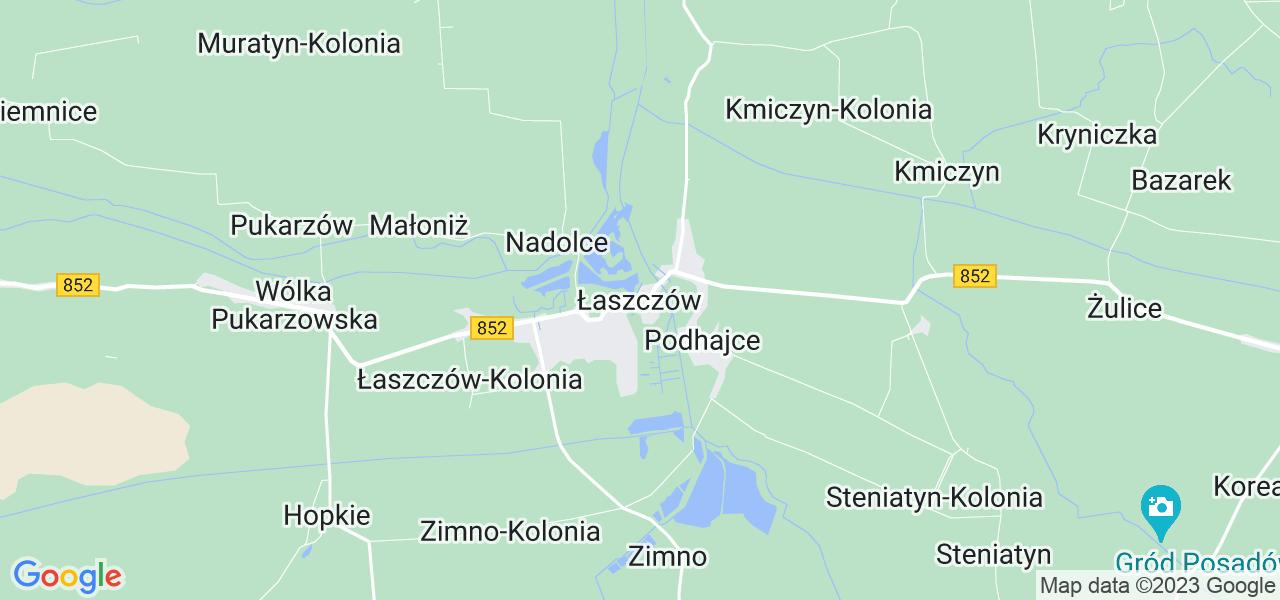 Dostępne w Łaszczowie lokalizacje punktów nadania, z których możesz skorzystać, chcąc wysłać turbinę do regeneracji w największym serwisie w Polsce