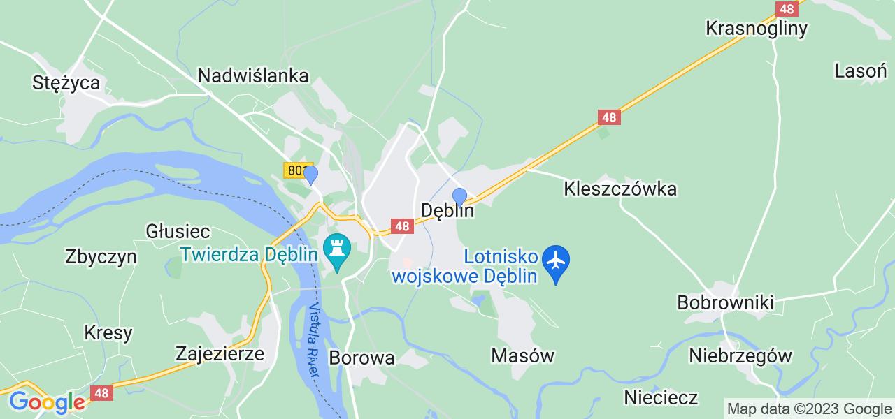 Dostępne w Dęblinie lokalizacje punktów nadania, z których możesz skorzystać, chcąc wysłać turbinę do regeneracji w największym serwisie w Polsce