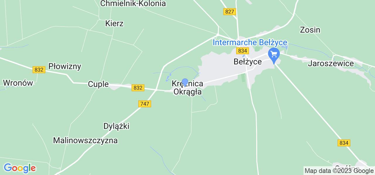 Dostępne w Krężnicy Okrągłej lokalizacje punktów nadania, z których możesz skorzystać, chcąc wysłać turbinę do regeneracji w największym serwisie w Polsce