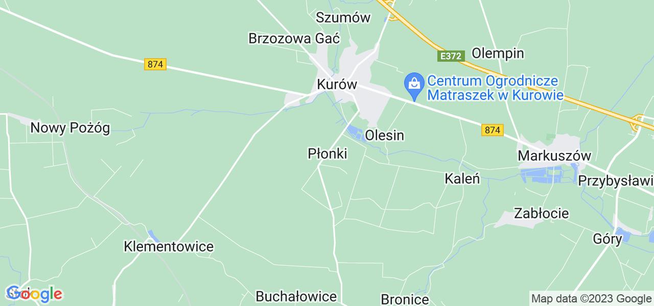 Dostępne w Płonkach lokalizacje punktów nadania, z których możesz skorzystać, chcąc wysłać turbinę do regeneracji w największym serwisie w Polsce