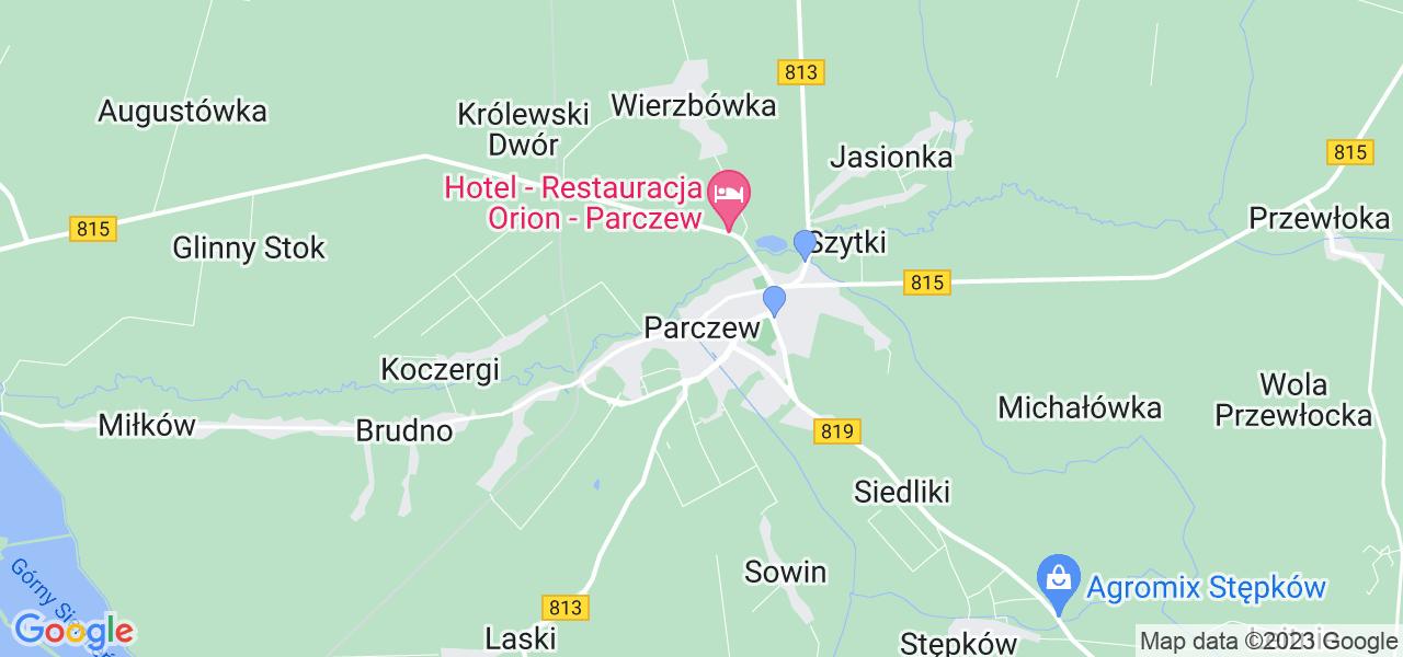Dostępne w Parczewie lokalizacje punktów nadania, z których możesz skorzystać, chcąc wysłać turbinę do regeneracji w największym serwisie w Polsce