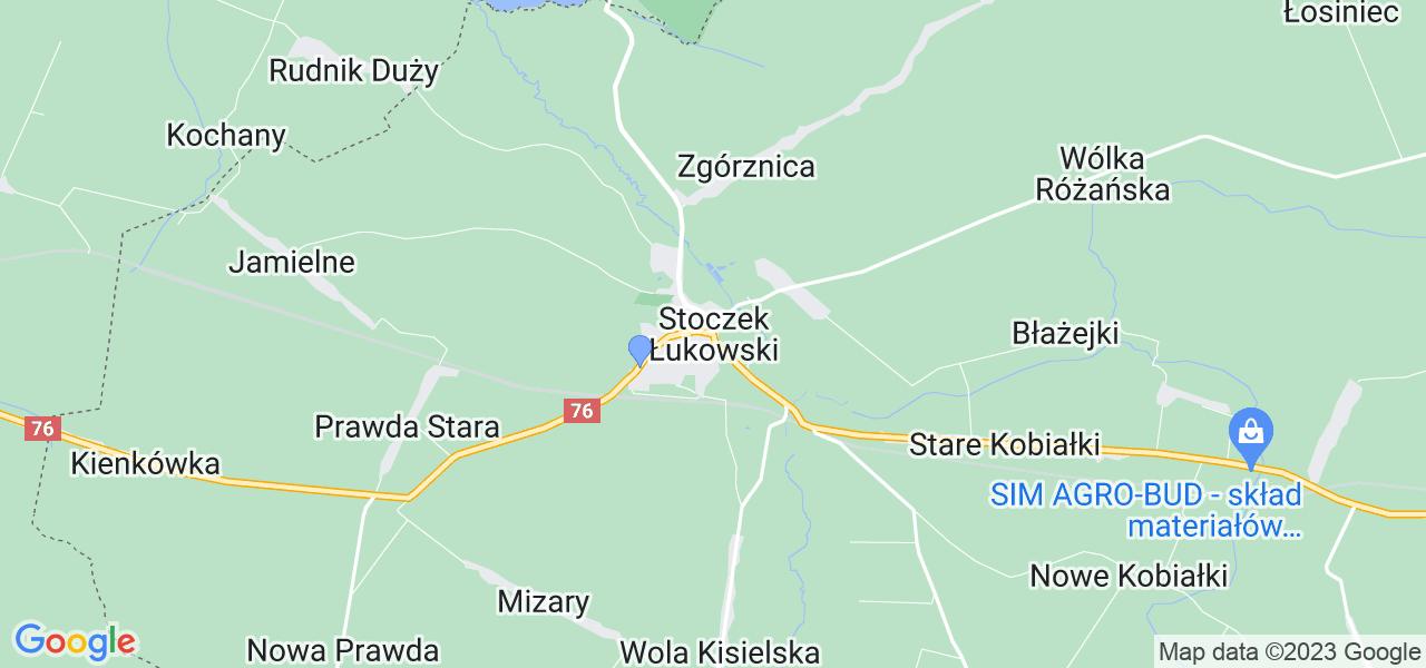 Dostępne w Stoczku Łukowskim lokalizacje punktów nadania, z których możesz skorzystać, chcąc wysłać turbinę do regeneracji w największym serwisie w Polsce