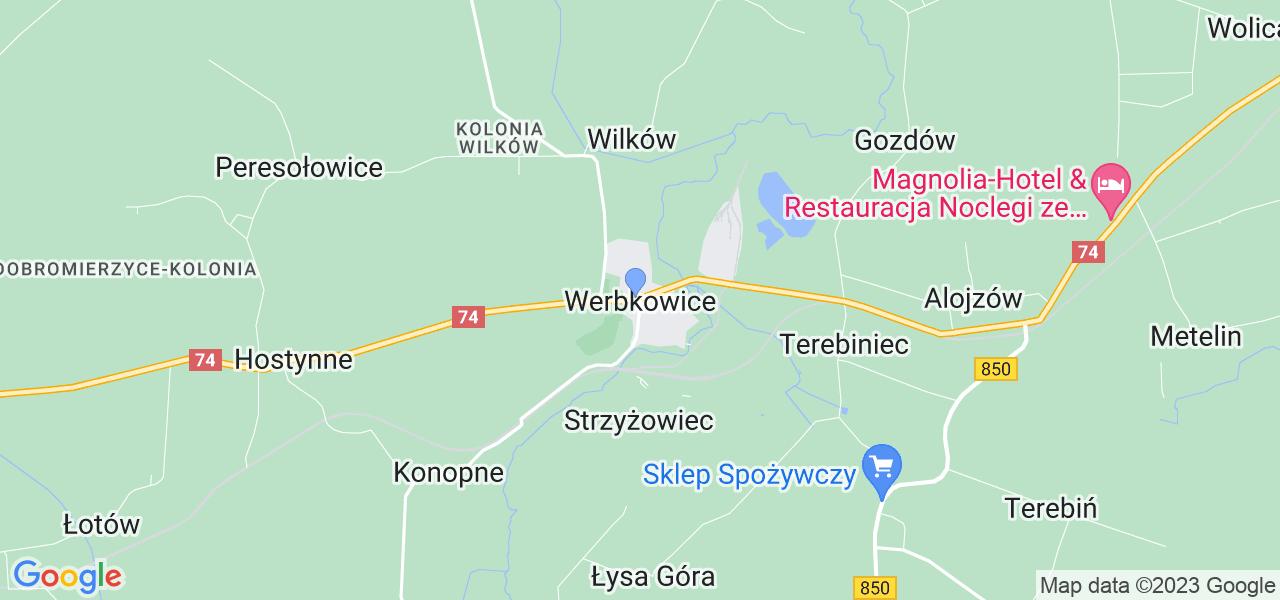 Dostępne w Werbkowicach lokalizacje punktów nadania, z których możesz skorzystać, chcąc wysłać turbinę do regeneracji w największym serwisie w Polsce