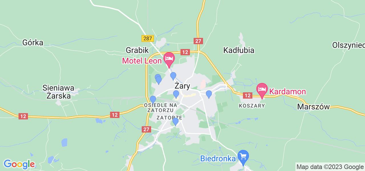 Dostępne w Żarach lokalizacje punktów nadania, z których możesz skorzystać, chcąc wysłać turbinę do regeneracji w największym serwisie w Polsce
