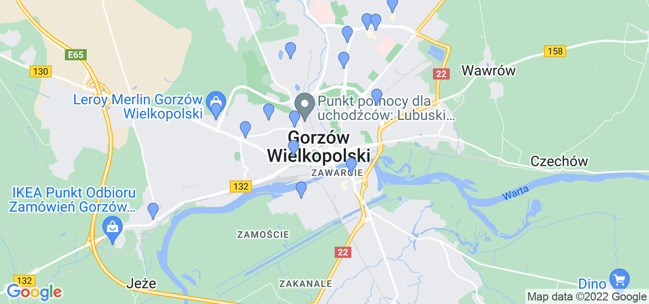 Dostępne w Gorzowie Wielkopolskim lokalizacje punktów nadania, z których możesz skorzystać, chcąc wysłać turbinę do regeneracji w największym serwisie w Polsce