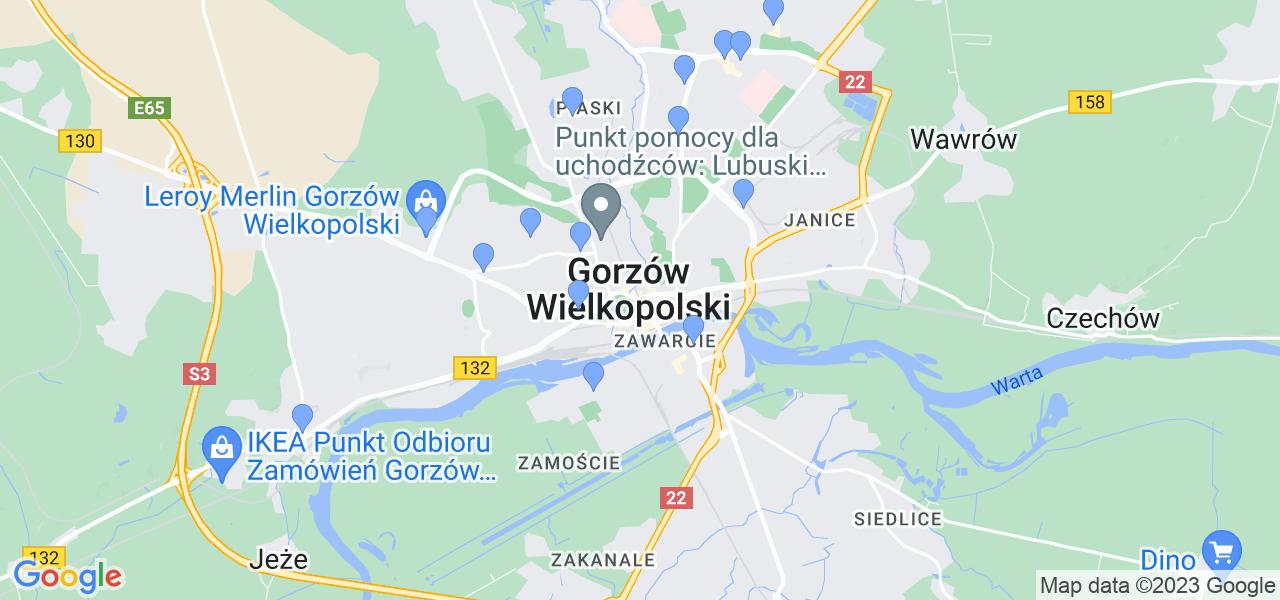 Dostępne w Gorzowie Wielkopolskim punkty wysyłki, z których można wysłać zdemontowany filtr DPF/FAP do czyszczenia w specjalistycznej pracowni