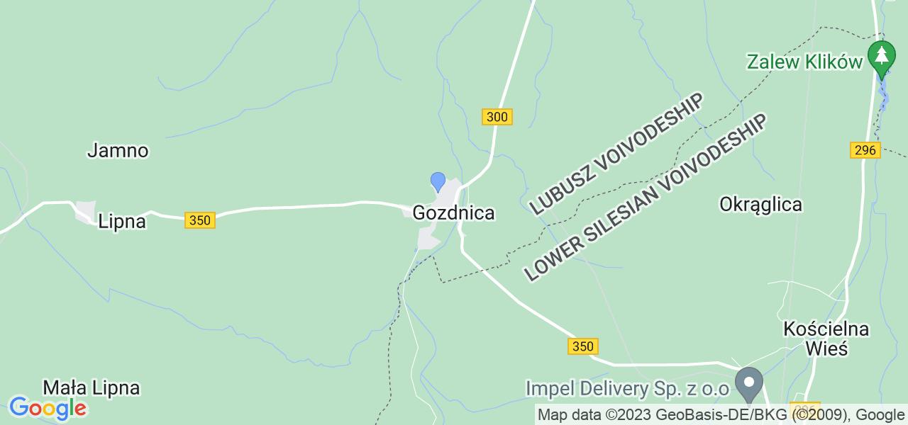Dostępne w Gozdnicy lokalizacje punktów nadania, z których możesz skorzystać, chcąc wysłać turbinę do regeneracji w największym serwisie w Polsce