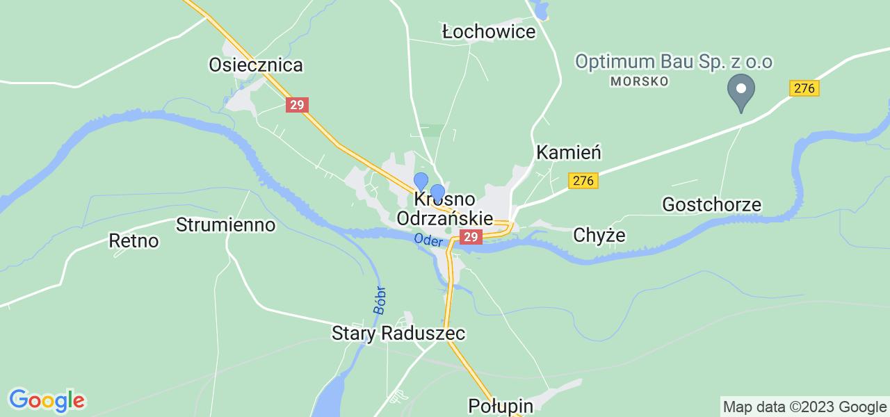 Dostępne w Krośnie Odrzańskim lokalizacje punktów nadania, z których możesz skorzystać, chcąc wysłać turbinę do regeneracji w największym serwisie w Polsce