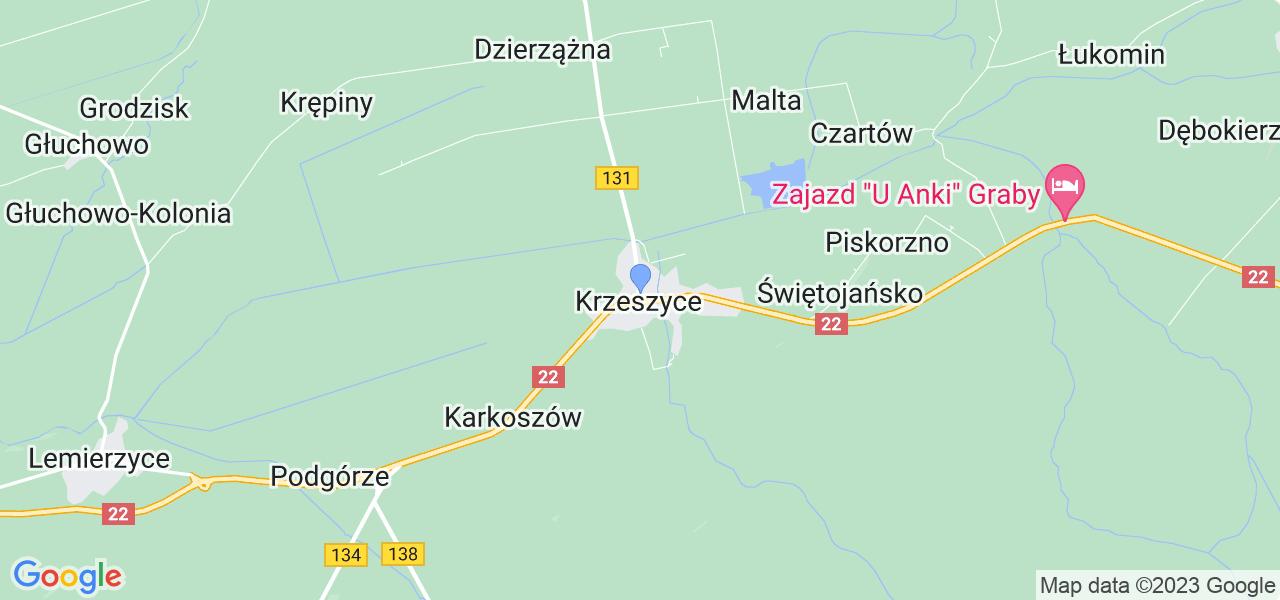 Dostępne w Krzeszycach lokalizacje punktów nadania, z których możesz skorzystać, chcąc wysłać turbinę do regeneracji w największym serwisie w Polsce