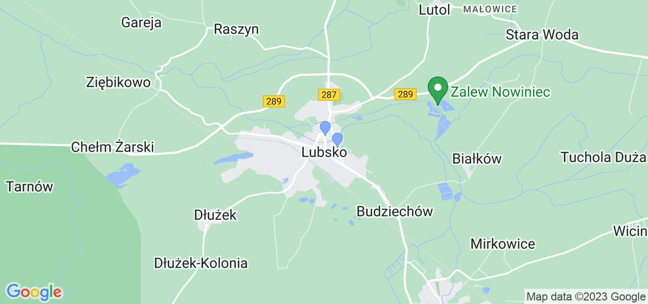 Dostępne w Lubsku lokalizacje punktów nadania, z których możesz skorzystać, chcąc wysłać turbinę do regeneracji w największym serwisie w Polsce