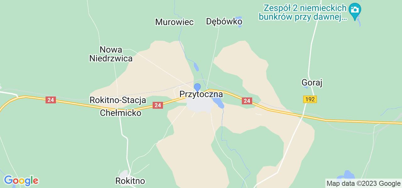 Dostępne w Przytocznej lokalizacje punktów nadania, z których możesz skorzystać, chcąc wysłać turbinę do regeneracji w największym serwisie w Polsce