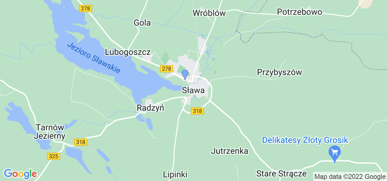 Dostępne w Sławie lokalizacje punktów nadania, z których możesz skorzystać, chcąc wysłać turbinę do regeneracji w największym serwisie w Polsce