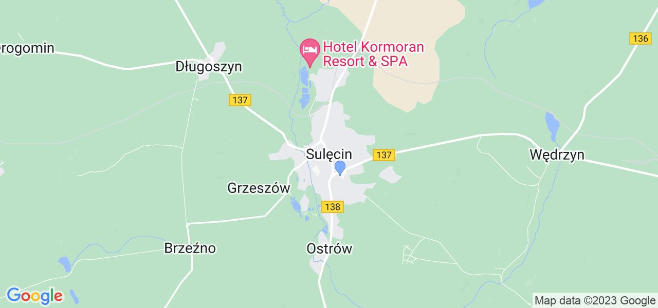 Dostępne w Sulęcinie lokalizacje punktów nadania, z których możesz skorzystać, chcąc wysłać turbinę do regeneracji w największym serwisie w Polsce
