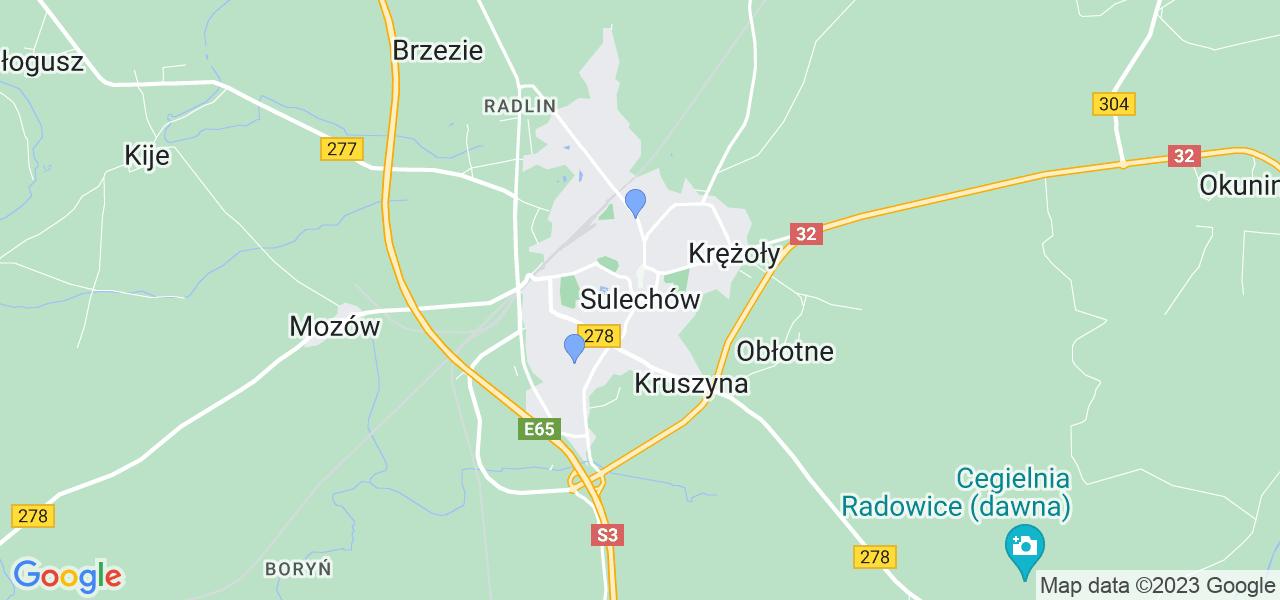 Dostępne w Sulechowie lokalizacje punktów nadania, z których możesz skorzystać, chcąc wysłać turbinę do regeneracji w największym serwisie w Polsce