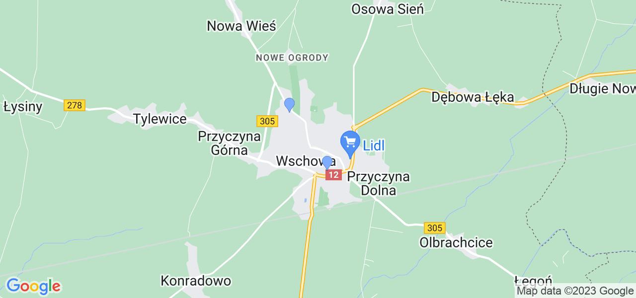 Dostępne w Wschowie lokalizacje punktów nadania, z których możesz skorzystać, chcąc wysłać turbinę do regeneracji w największym serwisie w Polsce