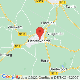 Google map of Ludgerhof, Lichtenvoorde