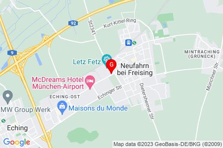 Google Map of Ludwig-Erhard-Str. 2E 85375 Neufahrn, Germany