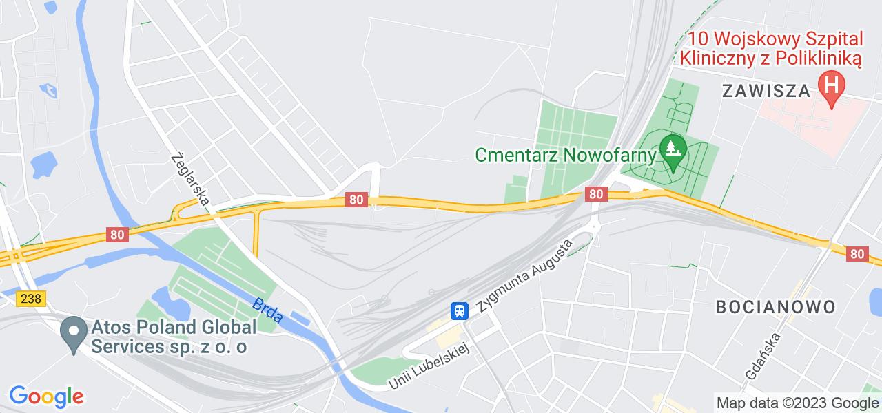 Osiedle Ludwikowo w Bydgoszczy – w tych punktach ekspresowo wyślesz turbinę do autoryzowanego serwisu