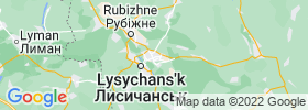 Syevyerodonets'k map