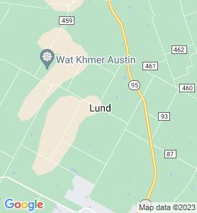 Lund TX Map