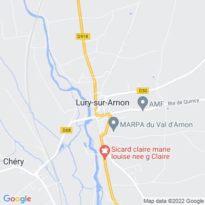 bed and breakfast Lury-sur-Arnon