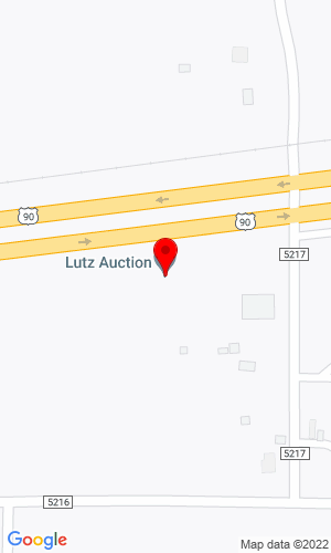Google Map of Lutz Auction Service PO Box 132, D'Hanis, TX, 78850