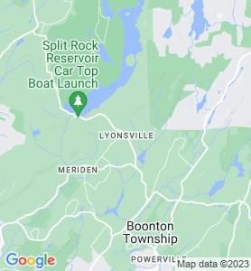 Lyonsville NJ Map