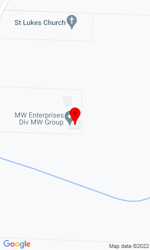 Google Map of M W Enterprises N9452 North River Road, Ixonia, WI, 53036